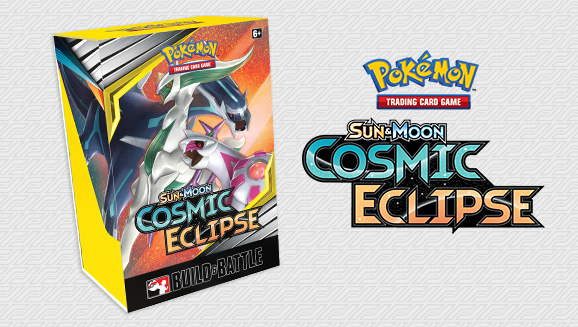 Pokémon TCG: <em>Sun & Moon—Cosmic Eclipse</em> Build & Battle Box