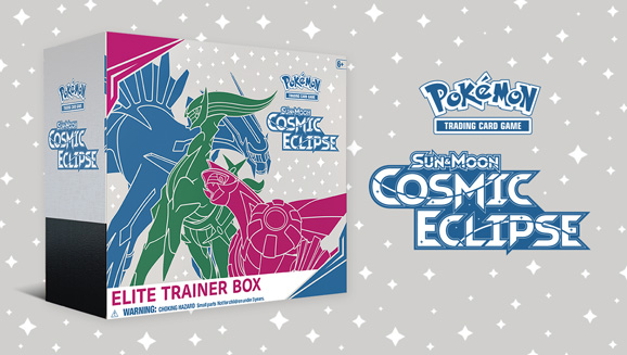 Pokémon TCG: <em>Sun & Moon—Cosmic Eclipse</em> Elite Trainer Box
