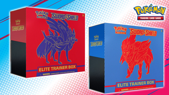 Pokémon TCG: <em>Sword & Shield</em> Elite Trainer Box