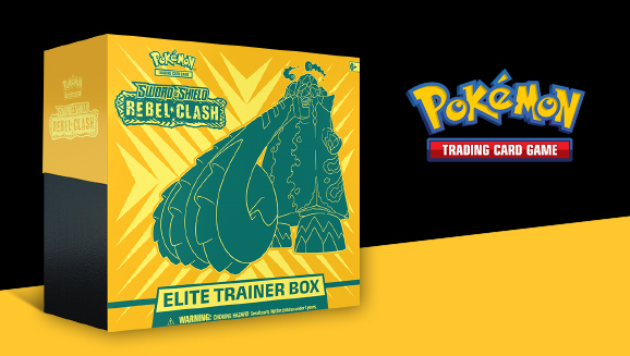 Pokémon TCG: <em>Sword & Shield—Rebel Clash</em> Elite Trainer Box