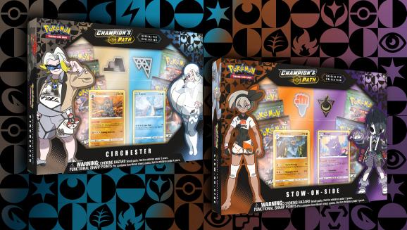 Pokémon TCG: <em>Champion's Path</em> Special Pin Collection