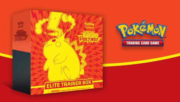 Pokémon TCG: <em>Sword & Shield—Vivid Voltage</em> Elite Trainer Box