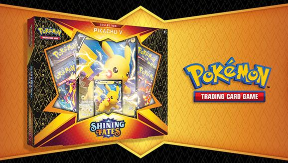 <em>Shining Fates</em> Collection—Pikachu V