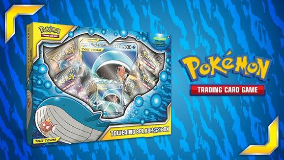 Pokémon TCG: Towering Splash-<em>GX</em> Box