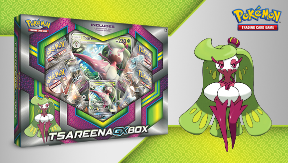 Pokémon TCG: Tsareena-<em>GX</em> Box