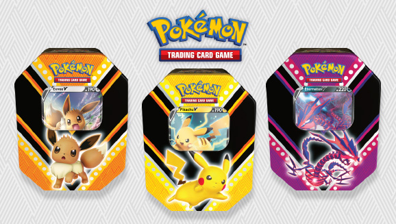Pokémon TCG: V Powers Tin