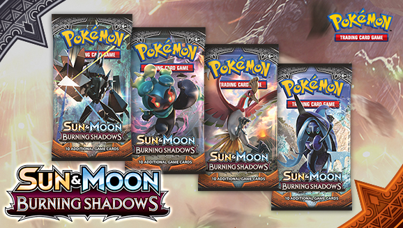 Pokémon TCG: <em>Sun & Moon—Burning Shadows</em>