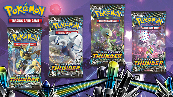 Pokémon TCG: <em>Sun & Moon—Lost Thunder</em>