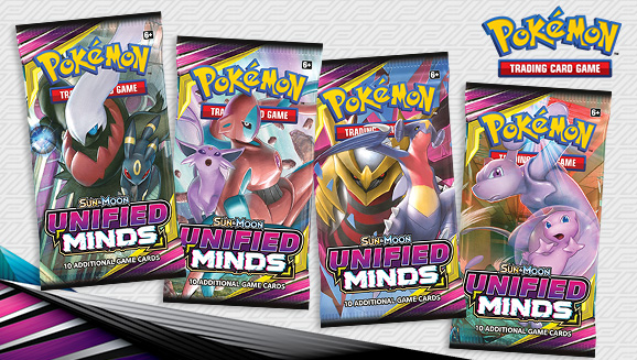 Pokémon TCG: <em>Sun & Moon—Unified Minds</em>