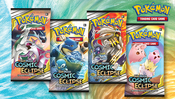 Pokémon TCG: <em>Sun & Moon—Cosmic Eclipse</em>