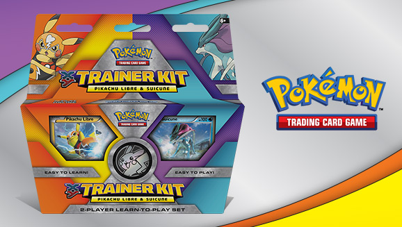 Pokémon TCG: <em>XY</em> Trainer Kit—Pikachu Libre and Suicune