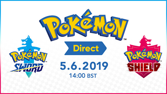 Pokémon Sword and Pokémon Shield News Coming June 5