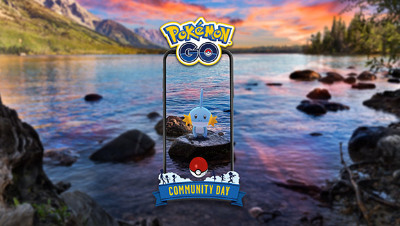 Amass Mudkip in an Evening July Community Day
