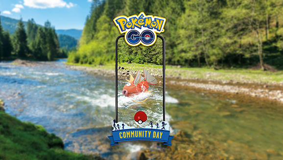 Magikarp Swims into Community Day