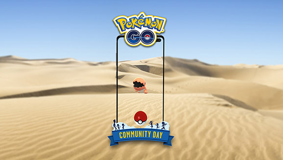You'll Dig October's Community Day Featuring Trapinch