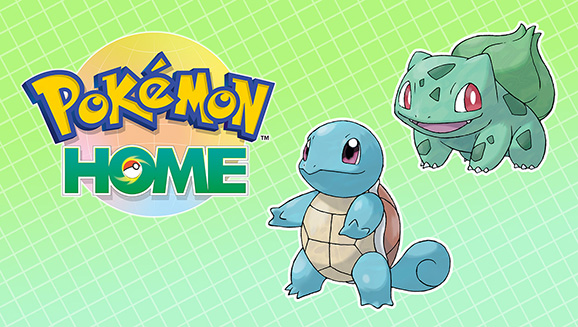 Get Bulbasaur and Squirtle with Pokémon HOME's Next Update