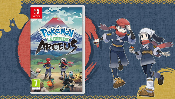 Pokémon Legends: Arceus Arrives for Nintendo Switch on 28 January 2022