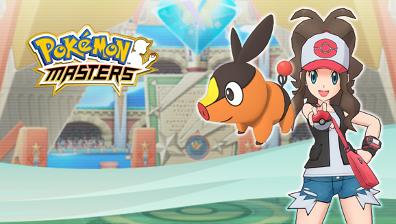 Hilda and Tepig Come to Pokémon Masters