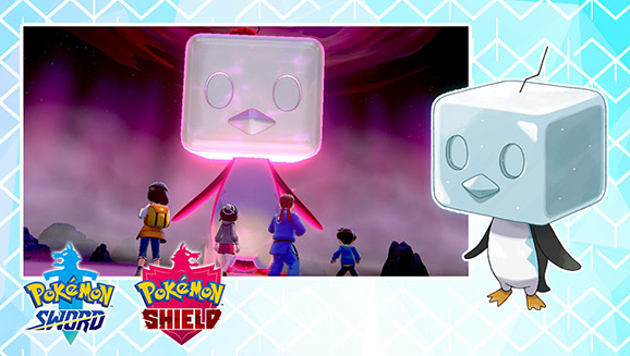 Catch a Shiny Eiscue in Max Raid Battles This Month