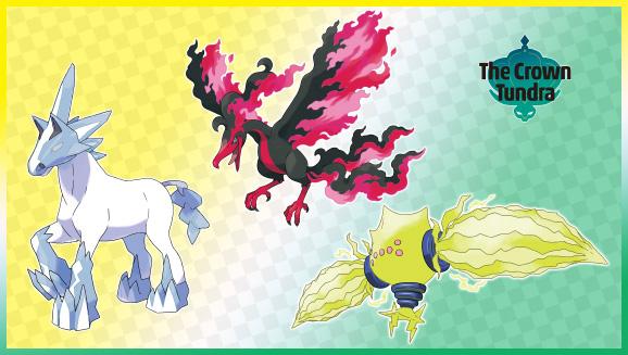 Legendary Pokémon Ready to Make an Instant Impact in Pokémon Sword and Pokémon Shield