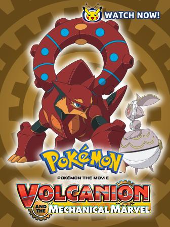 Volcanion Explodes on Pokémon TV