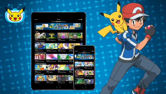 Download the Updated Pokémon TV App!