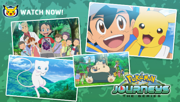 Start a New Journey with Ash and Pikachu