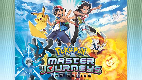 Pokémon Master Journeys Debuts This Summer