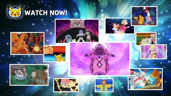Watch Memorable Episodes on Pokémon TV