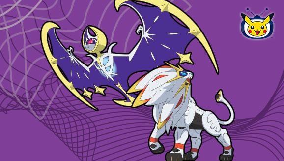 Solgaleo and Lunala Reach for the Stars on Pokémon TV
