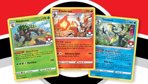 La temporada de liga Pokémon de Espada y Escudo ya está en marcha