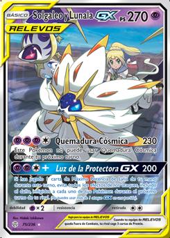 Solgaleo y Lunala-GX