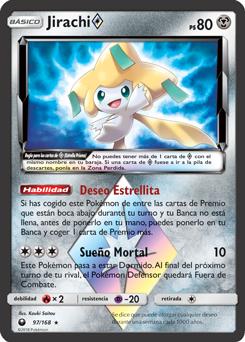 Jirachi Estrella Prisma