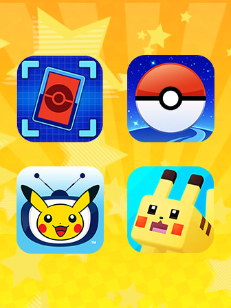 Mira las aplicaciones móviles Pokémon