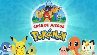 ¡Te damos la bienvenida a la Casa de Juegos Pokémon!