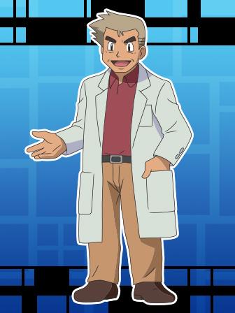 Entrenador destacado: Profesor Oak