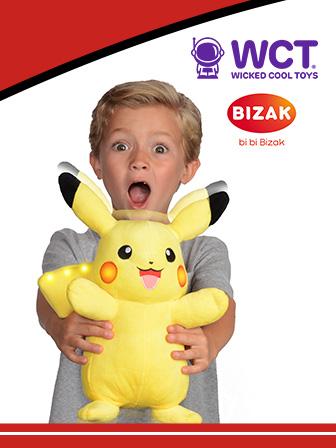 Más acción con Pikachu