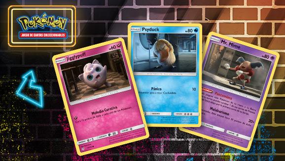 Un primer vistazo a las cartas de <em>Detective Pikachu</em> de JCC Pokémon