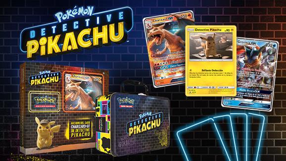 ¡Únete al caso con las cartas de Detective Pikachu!