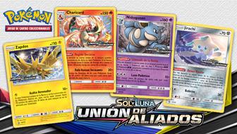 ¡Prueba nuevas cartas con tus amigos en un prelanzamiento de Sol y Luna-Unión de Aliados!