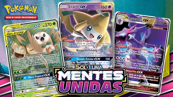 Ten en mente estas nuevas cartas de JCC Pokémon