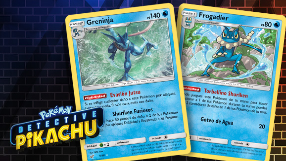 Consejos para una baraja de <em>Detective Pikachu</em>: Greninja