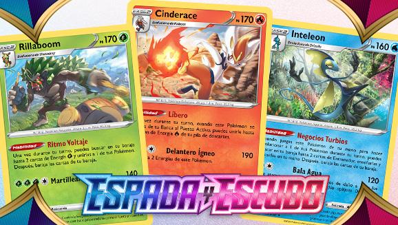 Pokémon de Galar se alinean para entrar en acción en JCC Pokémon