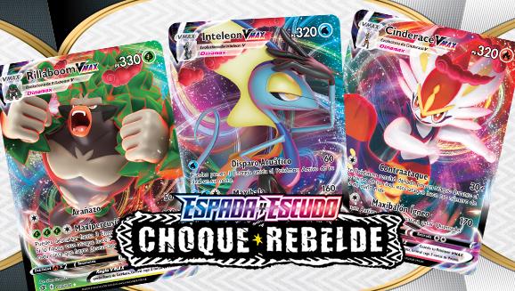 Los Pokémon iniciales evolucionan a Pokémon VMAX