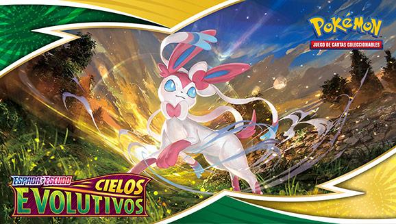 Asciende a lo más alto en JCC Pokémon con Espada y Escudo-Cielos Evolutivos