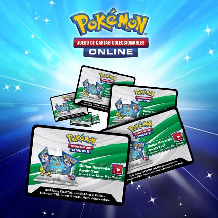 ¡Canjea códigos de JCC Pokémon Online en Pokemon.es!