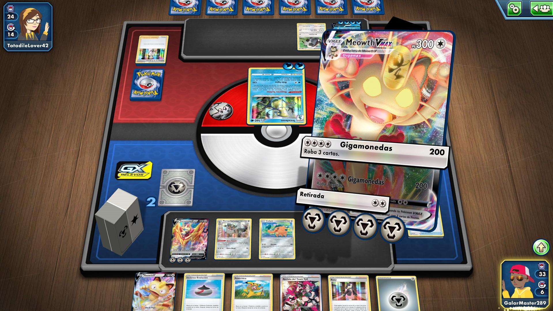 Juega a JCC Pokémon Online