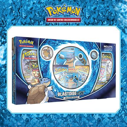 Siente la fuerza de Blastoise-GX en JCC Pokémon