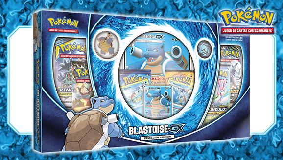 Colección premium Blastoise-<em>GX</em> de JCC Pokémon