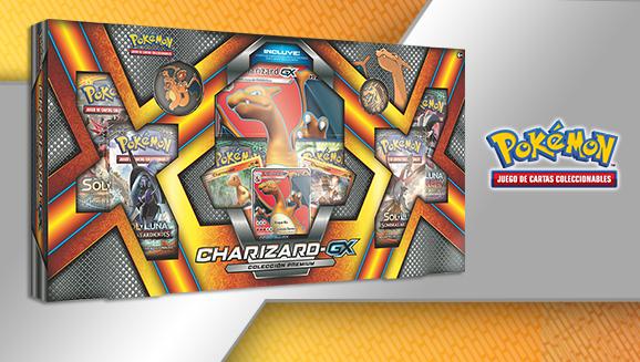 Colección premium Charizard-<em>GX</em> de JCC Pokémon